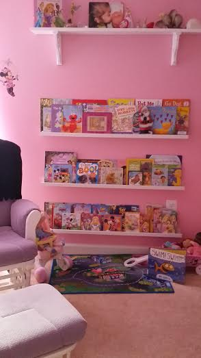 Our reading wall.