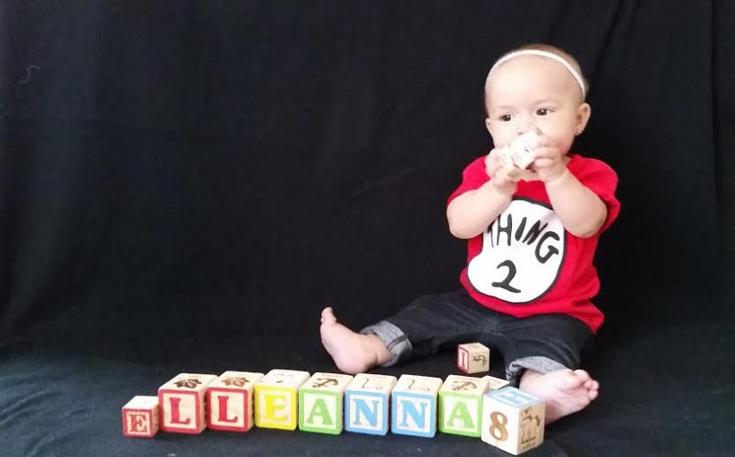 Elleanna's 8 month pictures.