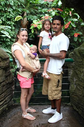 A day at the zoo for our family.