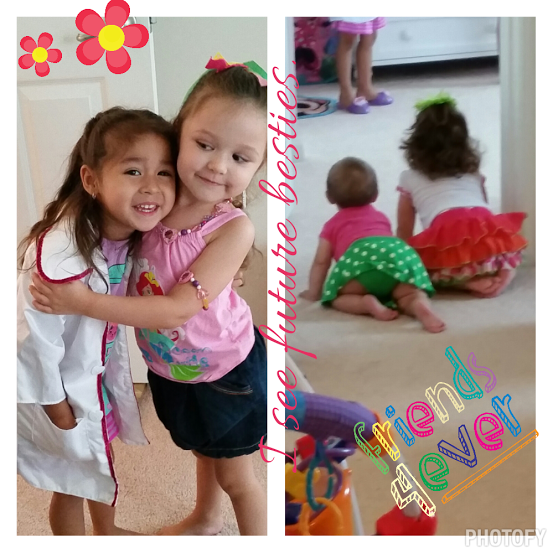 In the end they will be best-friends forever. My sisters, my daughters, my life!