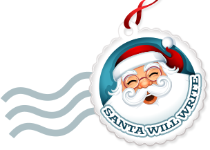 One red envelope filled with a special Christmas Memory: Santawrites!