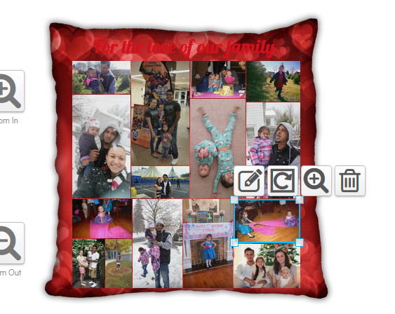 Declaring your love with Collage.com **Pillowgram giveaway**