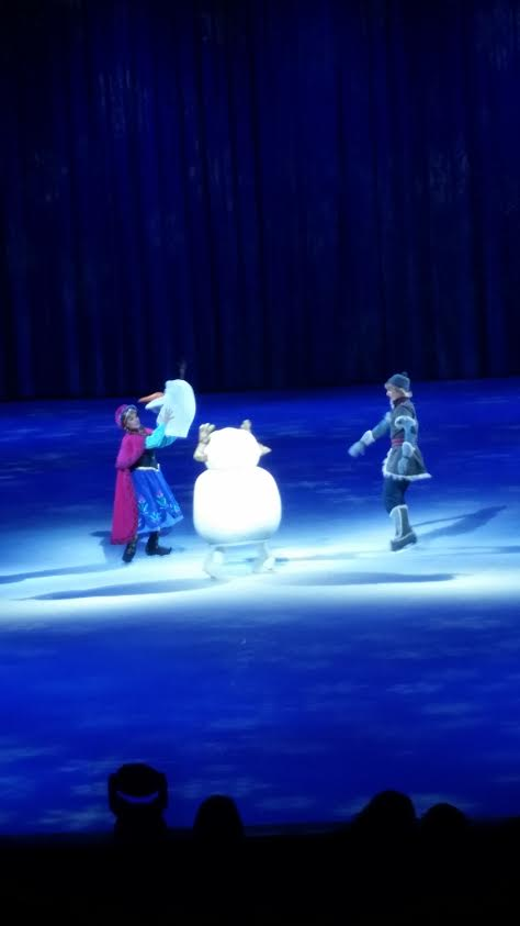 Here is where the magic is at: Disney on Ice 100 years ofMagic